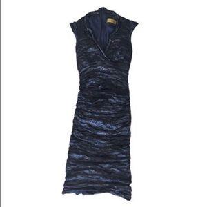 Nicole Miller Astor Techno Dress